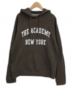 THE ACADEMY NEW YORK()の古着「プルオーバーパーカー」|ブラウン