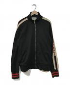 GUCCI(グッチ)の古着「テクニカルジャージージャケット」|ブラック