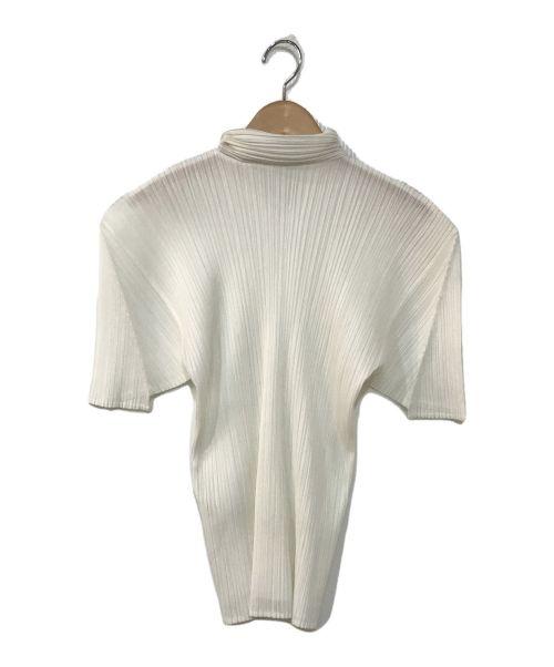 PLEATS PLEASE(プリーツプリーズ)PLEATS PLEASE (プリーツプリーズ) プリーツブラウス ホワイト サイズ:3の古着・服飾アイテム