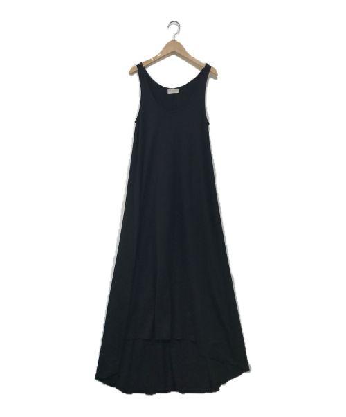 DEUXIEME CLASSE(ドゥーズィエム クラス)DEUXIEME CLASSE (ドゥーズィエム クラス) blackスムースワンピース ブラック サイズ:表記無しの古着・服飾アイテム