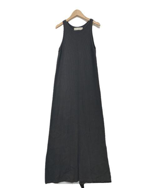 R JUBILEE(アールジュビリー)R JUBILEE (アールジュビリー) タンクトップワンピース グレー サイズ:Fの古着・服飾アイテム