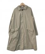 GALERIE VIE(ギャルリーヴィー)の古着「フーデッドコート」 ベージュ