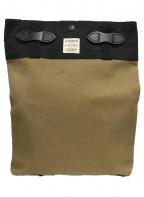 FILSON(フィルソン)の古着「トートバッグ」|ブラック×ブラウン