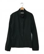 ISSEY MIYAKE()の古着「スタンドカラージャケット」|ブラック