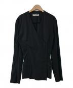 ISSEY MIYAKE()の古着「3WAYカラーレスジャケット」|ブラック