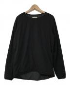 Snow peak(スノーピーク)の古着「Flexible Insulated Pullover」|ブラック