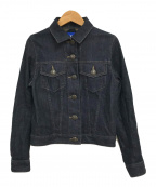 BLUE LABEL CRESTBRIDGE(ブルーレーベルクレストブリッジ)の古着「デニムジャケット」|インディゴ