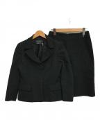 Salvatore Ferragamo(サルヴァトーレ フェラガモ)の古着「スカートセットアップ」|ブラック