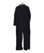 TNH JEANS(ザニューハウス ジーンズ)の古着「LYLACORDジャンプスーツ」|ネイビー