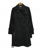 BURBERRY BLUE LABEL(バーバリーブルーレーベル)の古着「トレンチコート」 ブラック