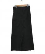 LEMAIRE(ルメール)の古着「ハイウエステッドスカート」 ブラック