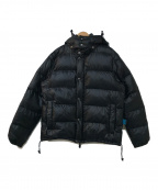 Le Passe-temps Bleu(パストンブルー)の古着「ダウンジャケット」 ブラック