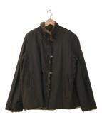 ()の古着「ラビットファーコート」|ブラウン