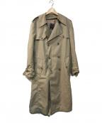 Christian Dior(クリスチャン ディオール)の古着「トレンチコート」|ベージュ
