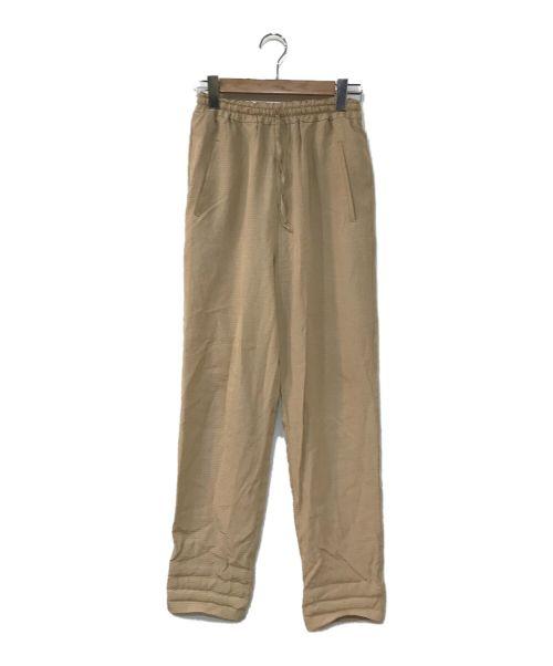 CLANE(クラネ)CLANE (クラネ) SHADOW CHECK EASY PANTS ベージュ サイズ:1の古着・服飾アイテム