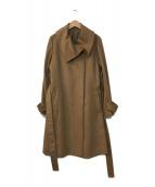 ()の古着「カシミヤコート」|ブラウン