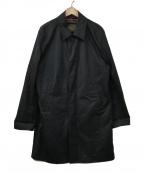 PAUL SMITH(ポールスミス)の古着「ダウンライナー付コート」|ネイビー