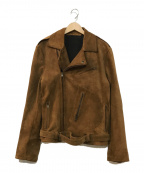 LAVORAZIONE ARTIGIANA(ラボラツィオーネアルティッジャーナ)の古着「レザージャケット」 ブラウン