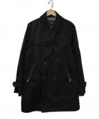 COMME des GARCONS HOMME(コムデギャルソン オム)の古着「ウィンドストッパーライトコート」|ブラック