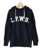 LOOPWHEELER(ループウィラー)の古着「後付けパーカー」|ネイビー