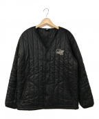 Lowe Alpine(ロウアルパイン)の古着「中綿カラーレスジャケット」|ブラック