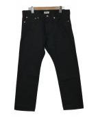 ()の古着「Black Rigid Denim Pants」 ブラック