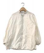 ()の古着「ボリュームスリーブブラウス」|ホワイト
