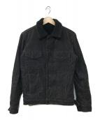 ()の古着「ランチジャケット」 グレー