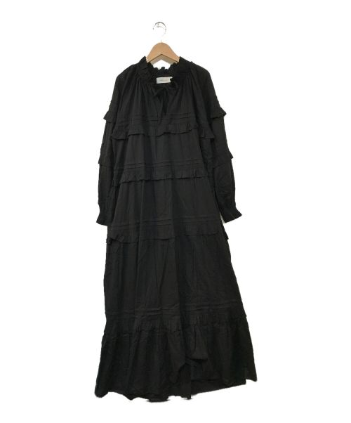 SKALL STUDIO(スカル スタジオ)SKALL STUDIO (スカル スタジオ) アスタードレス ブラック サイズ:36の古着・服飾アイテム