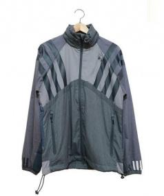 adidas Originals×White Mountaineering(アディダスオリジナルス×ホワイトマウンテニアリング)の古着「デザインフーデッドジャケット」|グレー