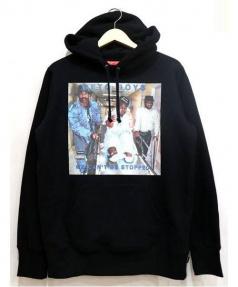 SUPREME(シュプリーム)の古着「Geto Boys Hooded Sweatshirt」|ブラック