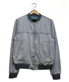 DIESEL(ディーゼル)の古着「ライトデニムブルゾン」|ライトインディゴ