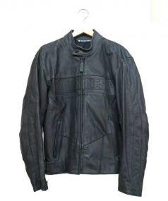 ARLEN NESS(アレンネス)の古着「レーシングレザージャケット」 ブラック