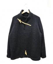 CORONA(コロナ)の古着「ダッフルプルオーバーシャツ」|グレー