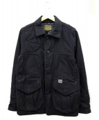 COOTIE(クーティー)の古着「ハンティングジャケット」|ブラック