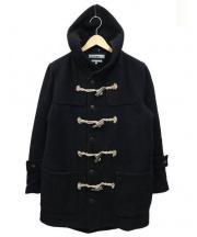 nonnative(ノンネイティブ)の古着「HERRINGBONE WOOL DUFFLE COAT」 ブラック