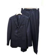 UNITED ARROWS(ユナイテッド アローズ)の古着「ペンシルストライプ3Bスーツ」|ネイビー