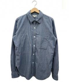Engineered Garments(エンジニアードガーメンツ)の古着「シャンブレーシャツ」|ブルー