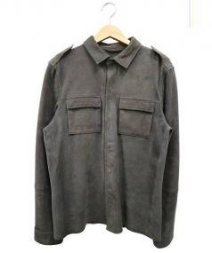ALL SAINT(オールセイント)の古着「ミリタリージャケット」|グレー