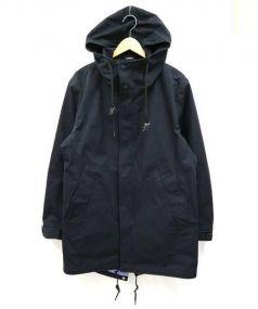 nanamica(ナナミカ)の古着「GORE-TEX Shell Coat」|ブラック