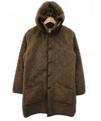 Traditional Weatherwear(トラディショナル ウェザーウェア)の古着「ボアキルティングコート」|ブラウン