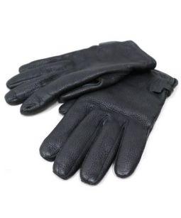 HERMES(エルメス)の古着「レザーグローブ」 ブラック