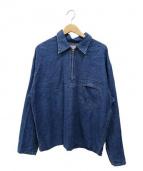 BLUE BLUE(ブルーブルー)の古着「デニムプルオーバー」 インディゴ