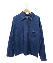 BLUE BLUE(ブルーブルー)の古着「デニムプルオーバー」|インディゴ