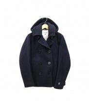ORCIVAL(オーシバル)の古着「ヘビーウェイトメルトンコート」|ネイビー