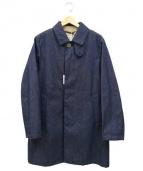 Traditional Weatherwear(トラディショナルウェザーウェア)の古着「ステンカラーコート」|インディゴ