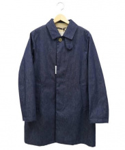 Traditional Weatherwear(トラディショナルウェザーウェア)の古着「ステンカラーコート」 インディゴ