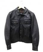 Buggy(バギー)の古着「モーターサイクルレザージャケット」|ブラック