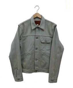 RRL(ダブルアールエル)の古着「カラーデニムジャケット」|ライトグリーン