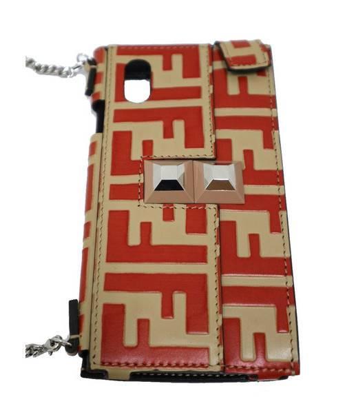 quality design 3827a 1a4d5 [中古]FENDI(フェンディ)のレディース 服飾小物 FFロゴ携帯ケース
